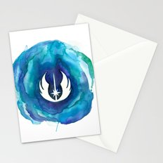 Star Wars Jedi Watercolor Stationery Cards