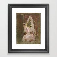 Nina (Vampire Ball) Framed Art Print