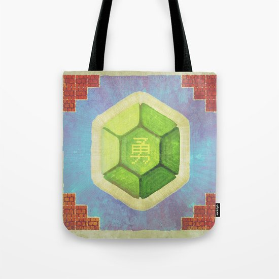 Troopa of Courage Tote Bag
