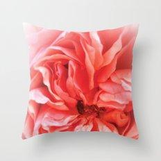 Rose Pattern Throw Pillow