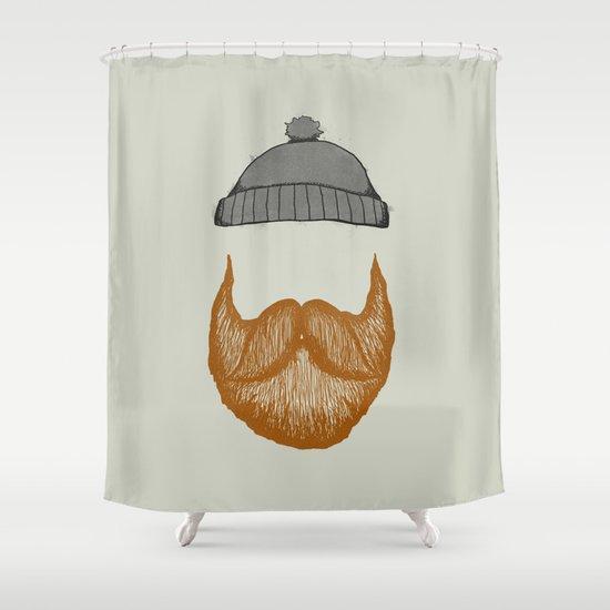 The Fisherman Shower Curtain