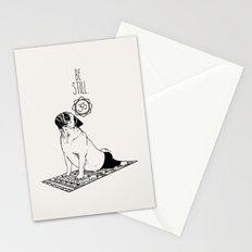 Be Still Pug Stationery Cards