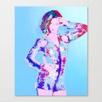 Katy P - Cosmo Canvas Print