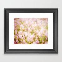 Summer Pink Framed Art Print