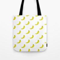 Banana Cartoon Pattern Tote Bag