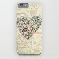 iPhone & iPod Case featuring I Love Brompton Bikes by Wyatt Design
