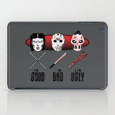 Hockey Mask Evolution iPad Case