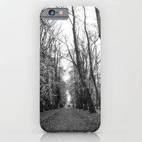 iPhone & iPod Case featuring Leafy Walk by Marisa Jane
