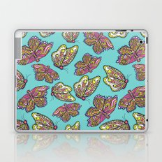 heart and butterflies Laptop & iPad Skin