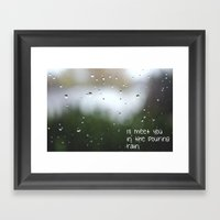 I'll Meet You In The Pou… Framed Art Print