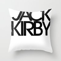 Classic : Jack Kirby Throw Pillow