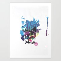 Cash Silk 002 Art Print