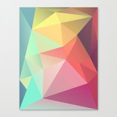 Geometric V Canvas Print