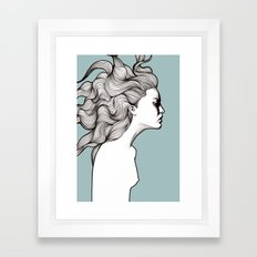 Devon Framed Art Print