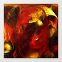 live with passion Canvas Print