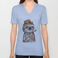 Mr.Sloth Unisex V-Neck