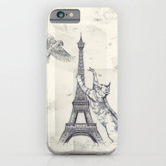 cat attack iPhone & iPod Case