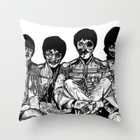 All You Need is Brains Throw Pillow