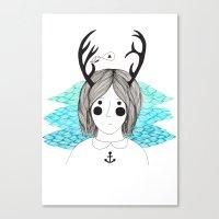 imogean Canvas Print