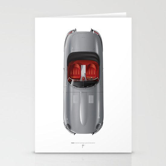 Classic Series N.º1, Jaguar E Stationery Card