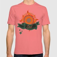 Sol Mens Fitted Tee Pomegranate SMALL