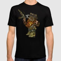 Gwok Black Mens Fitted Tee SMALL