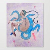 Deep Sea Debauchery Canvas Print