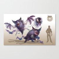 Pokemon-Gengar Canvas Print