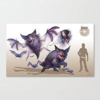 Pokemon-Gengar Canvas Print