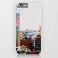An abstract city, NYC iPhone 6 Slim Case