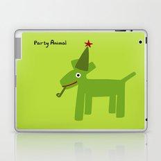 Party Animal-Green Laptop & iPad Skin