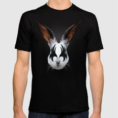 Kiss Of A Rabbit Mens Fitted Tee Black SMALL