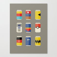Pop Culture Canvas Print