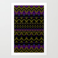 Sweater Pattern Art Print
