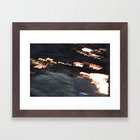 Sunset Madness Framed Art Print