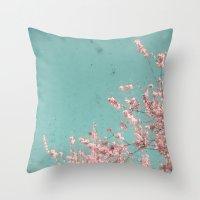 Spring Dream Throw Pillow
