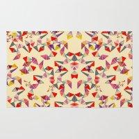 Watercolour Geometric Sh… Rug