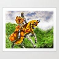 King Robert The Bruce Of… Art Print