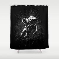 Plummet Shower Curtain