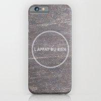 iPhone & iPod Case featuring L'appât du rien by Doche Lps