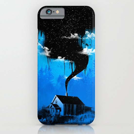 Black Smoke iPhone & iPod Case