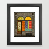 Shop Windows Framed Art Print