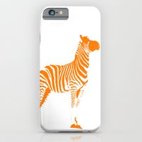 iPhone & iPod Case featuring Animals Illustration Zebra by ialbert