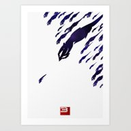 Art Print featuring Mass Effect 3 (w/quote) by Fabio Castro