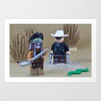 Dirty Ranger Art Print