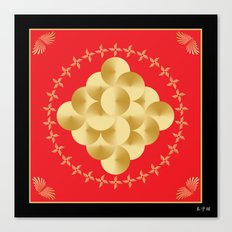 Fleuron Composition No. 149 Canvas Print