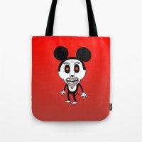 Weird Mickey Tote Bag