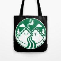 Twin Pies Coffee Tote Bag