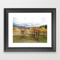 After the Crush Framed Art Print