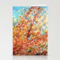 Trippin under a tree Stationery Cards